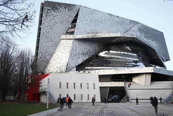 Vue d'ensemble de la Philharmonie de Paris en janvier 2015.