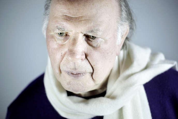 L'écrivain hongrois Imre Kertesz, à Paris en 2010.