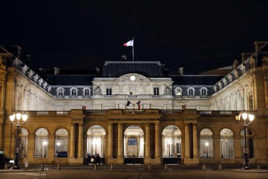Le bâtiment du Conseil d'Etat. AFP PHOTO / LUDOVIC MARIN