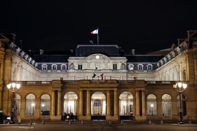 Le Conseil d'Etat, à  Paris en février 2014.