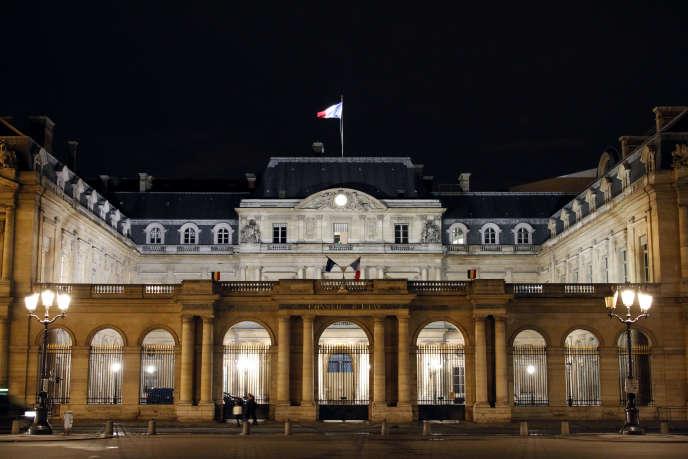Le Conseil d'Etat, à Paris, en février 2014.