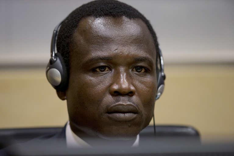 Dominic Ongwen, lors de sa comparution devant la Cour pénale internationale (LaHaye), le 26 janvier 2015.