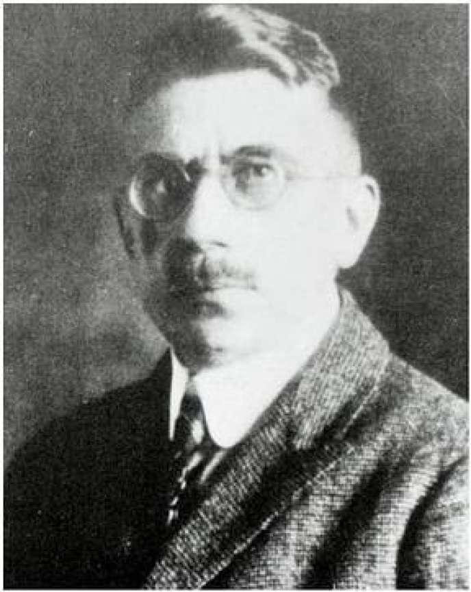 Arthur Scherbius, l'inventeur de la machine Enigma.