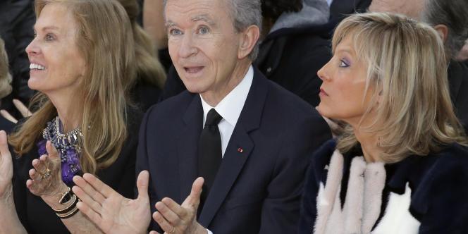 Bernard Arnault à Paris, le 26 janvier.