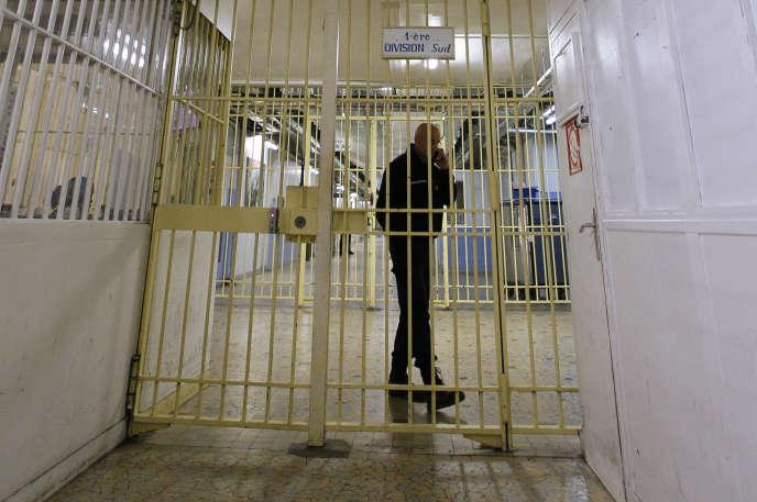 Selon le ministère de la justice, 152 radicaux sont actuellement écroués, pour la plupart en Ile-de-France – ici, la prison de Fresnes.