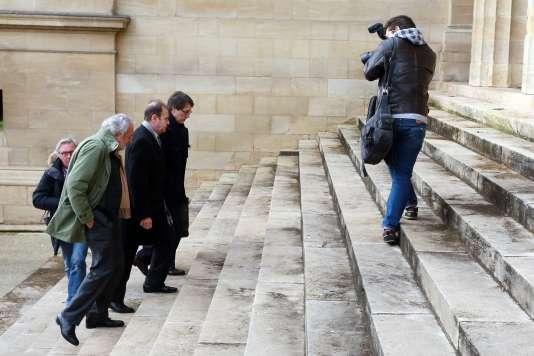 François-Marie Banier, au tribunal de Bordeaux le 27 janvier.