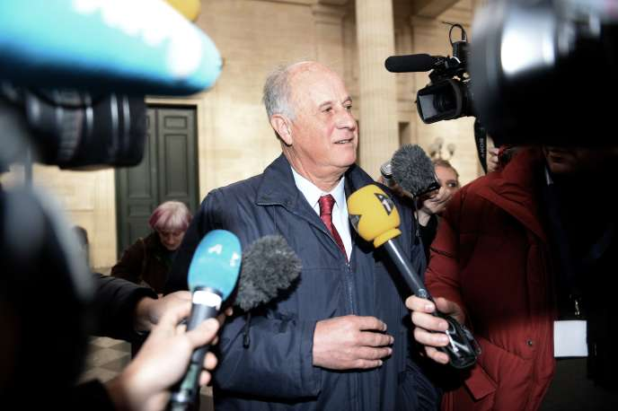 Patrice de Maistre lors de son procès, le 27 janvier 2015, à Bordeaux.