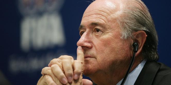 Joseph Blatter, président de la FIFA, ici en 2005 à Zurich (Suisse).