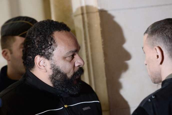 Dieudonné au tribunal de Paris, le 28 janvier.