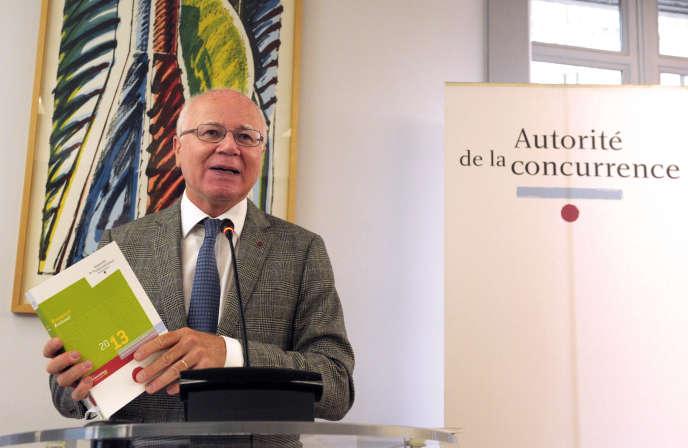 Bruno Lasserre, président de l'Autorité de la concurrence, en juillet 2014.