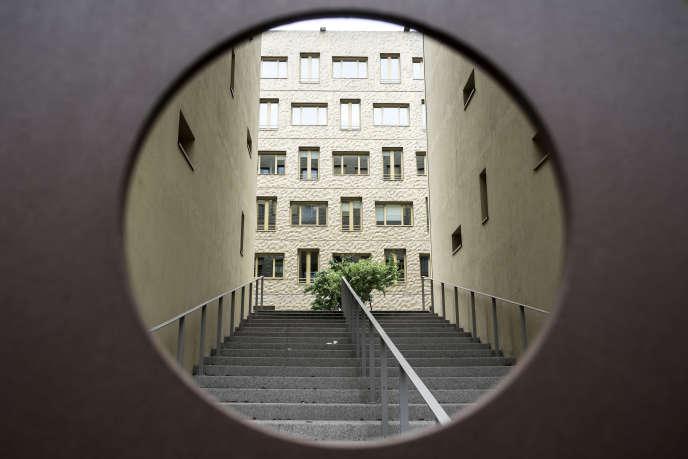 Dans le nouveau quartier Confluence, à Lyon.
