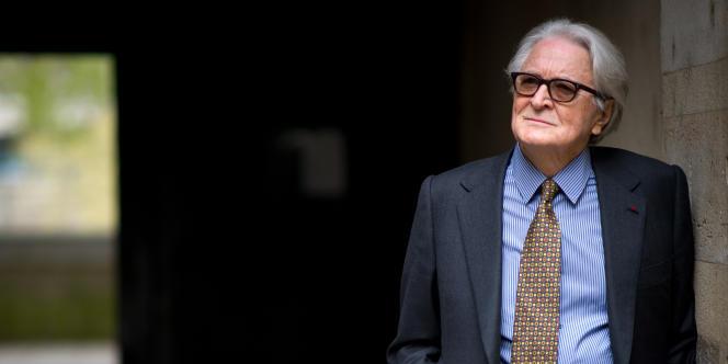 L'ancien président du Conseil constitutionnel, Roland Dumas, le 4 avril 2011.