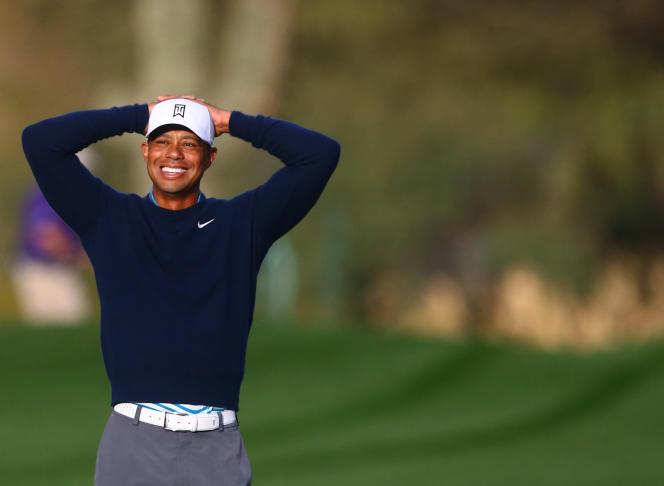 L'Américain Tiger Woods, à l'Open de Phoenix, le 27 janvier.