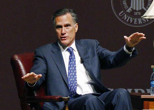 Mitt Romney, en janvier 2015.