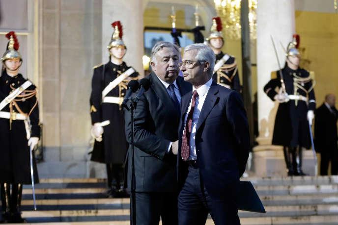 Le 8 janvier denier, le Président de la République recevait les représentants de l'Assemblée Nationale, du Sénat ainsi que les présidents de groupes des deux Assemblées au palais de l'Elysée suite à l'attentat dans la rédaction de Charlie Hebdo.