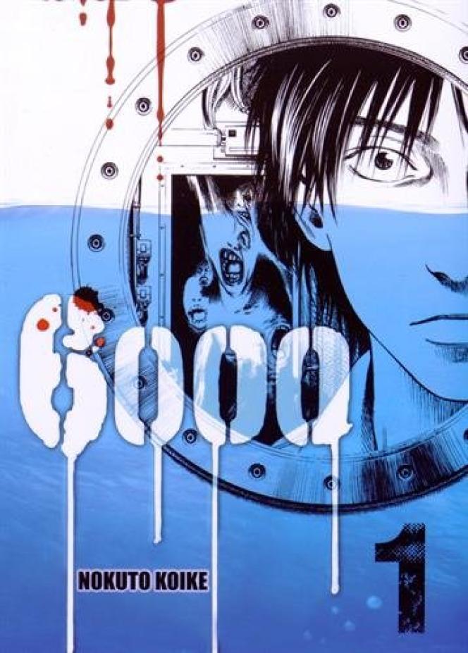 La couverture de la bande-dessinée «6000»