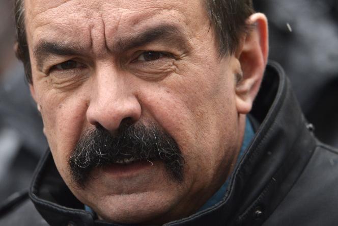 Philippe Martinez a été officiellement élu à la tête de la CGT, le 3 février.