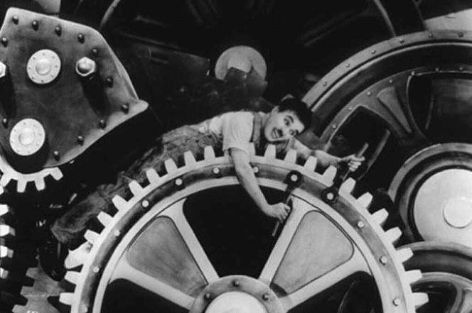 Charlie Chaplin dans