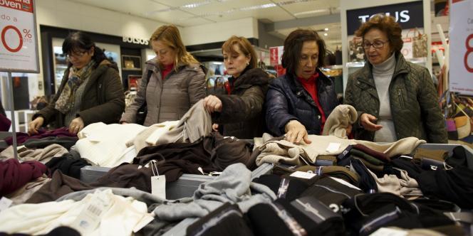 Les importations européennes d'habillement ont augmenté de + 8 %, à 55,4 milliards d'euros sur les trois premiers trimestres 2014.
