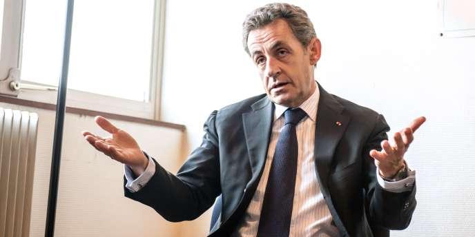 Nicolas Sarkozy à Tourcoing, le 29 janvier 2015.