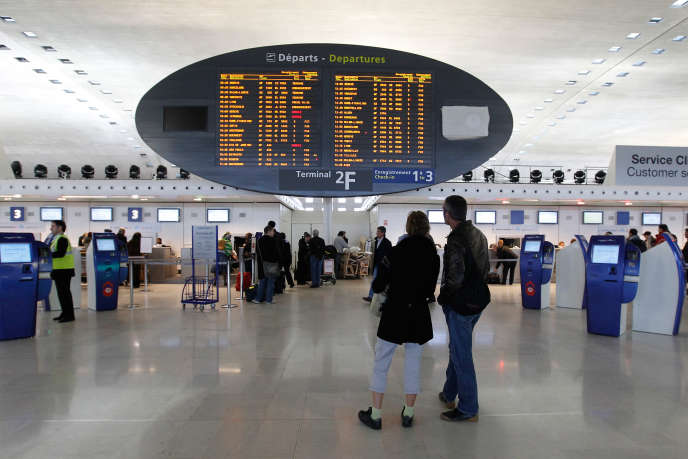 A l'aéroport Roissy-Charles-de-Gaulle, en 2012.