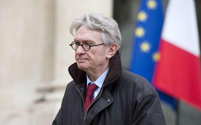 Jean-Claude Mailly, à l'Elysée, le 19 janvier.