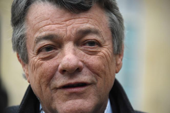 L'ancien ministre français Jean-Louis Borloo, ici en janvier 2015