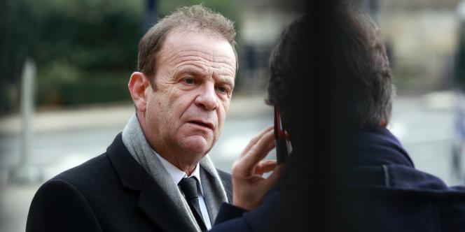 Le photographe François-Marie Banier, le 27 janvier 2015, à Bordeaux.