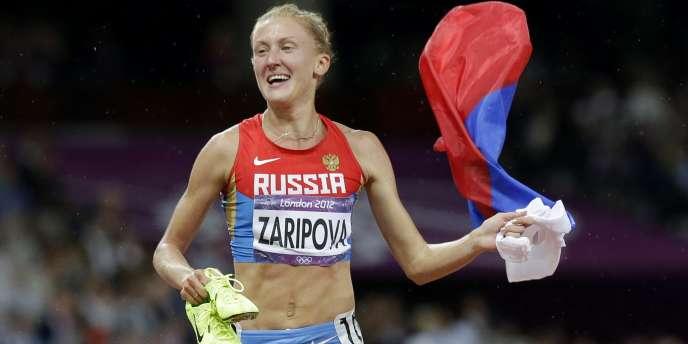 La championne olympique Yuliya Zaripova est suspendue pour d'importantes anomalies dans son profil sanguin.