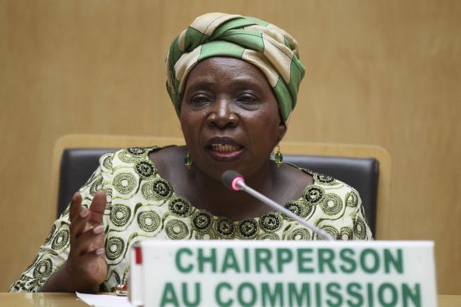 Nkosazana Dlamini-Zuma, présidente de la Commission de l'Union africaine lors de la 24 ème assemblée des chefs d'Etat et de gouvernement, à Addis-Abeba, le 31 janvier 2015.