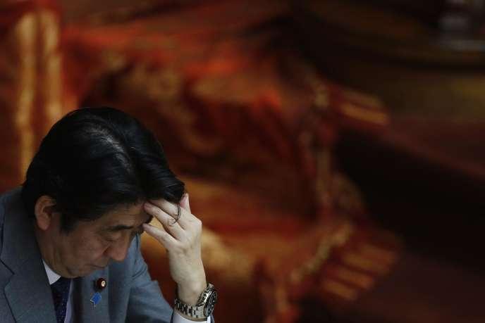 Le premier ministre japonais Shinzo Abe le 28 janvier.