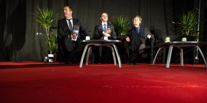 Le premier ministre, Manuel Valls, s'est déplacé pour soutenir le candidat socialiste dans le Doubs.