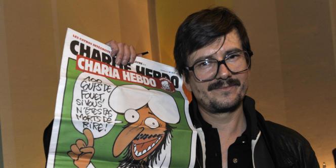 Le dessinateur Luz.