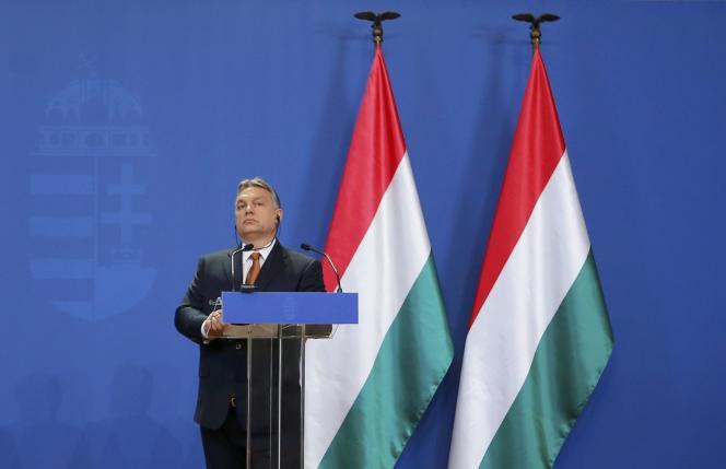 Viktor Orban, à Budapest, le 2 février.