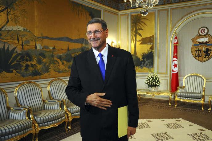 Le premier ministre tunisien Habib Essid, le 2 février à Tunis.