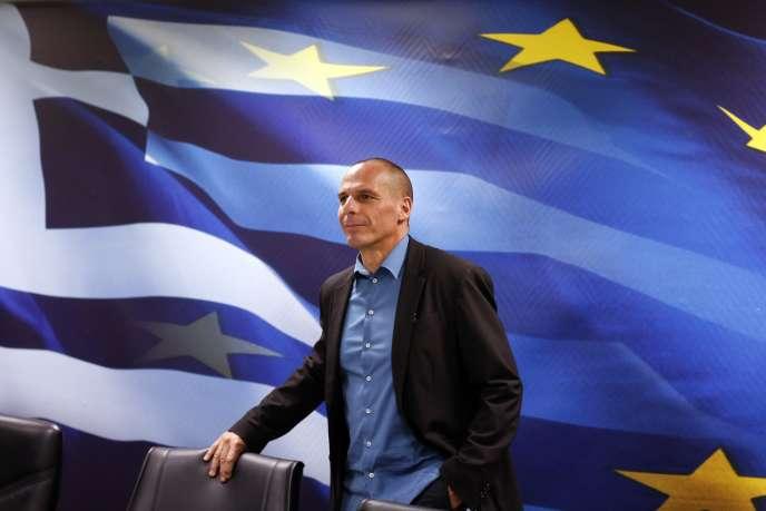 Le ministre grec des finances, Yanis Varoufakis, en janvier 2015.