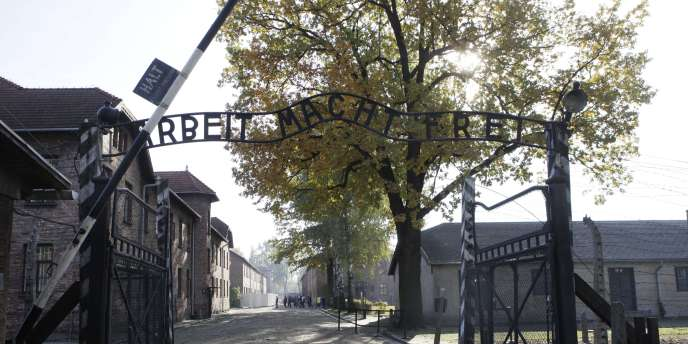 Le camp d'extermination d'Auschwitz, le 19 octobre 2012.