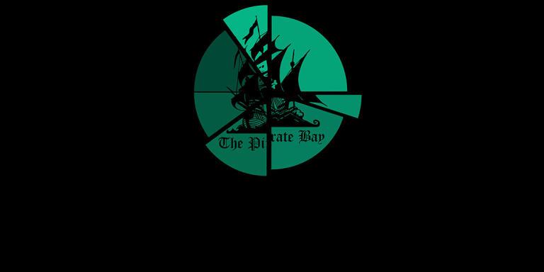 Le logo de The Pirate Bay