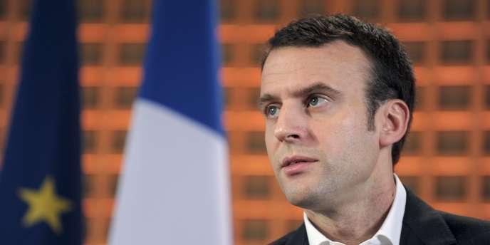 Emmanuel Macron, ministre de l'économie, le 29janvier.
