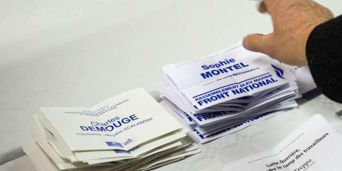 L'accession du Front national au second tour de la législative partielle n'et pas due à une progression du parti d'extrême droite mais à une forte abstention et une perte massive d'électeurs pour le PS et l'UMP.