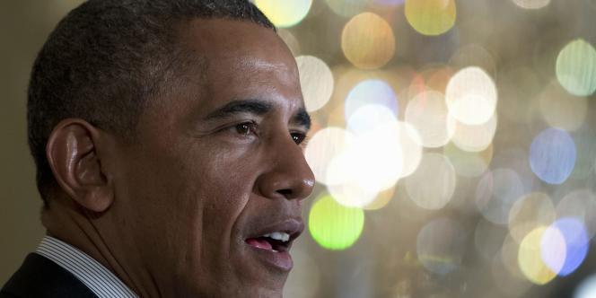 Le président américain, Barack Obama, le 30 janvier 2015, à la Maison Blanche à Washington.
