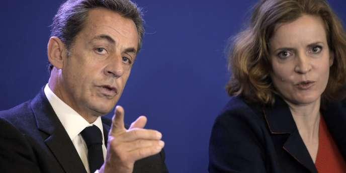Nicolas Sarkozy et Nathalie Kosciusko-Morizet, le 17 janvier 2015.