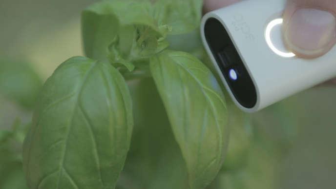 Le projet Scio (un capteur qui vérifie la composition des aliments) a récolté 2,8millions de dollars sur la plate-forme de crowdfunding Kickstarter.