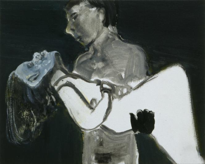 « The Image as Burden », de Marlene Dumas.