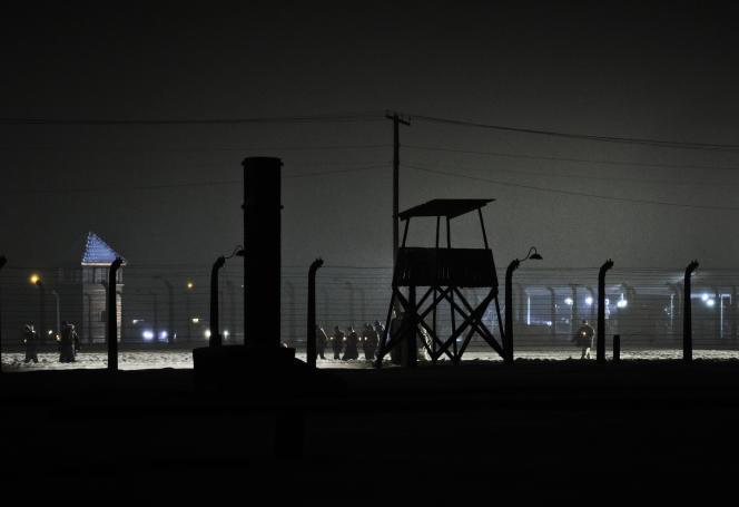 Auschwitz, le 27 janvier 2015.