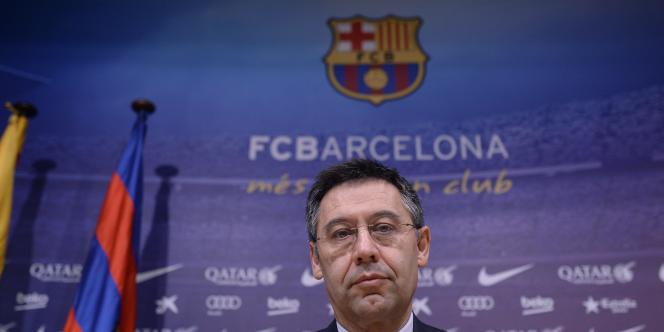 Josep Maria Bartomeu, le président du Barça.