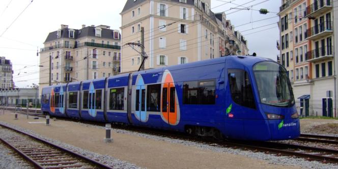 La gare de Gargan (Les Pavillons-sous-Bois, Seine-Saint-Denis).
