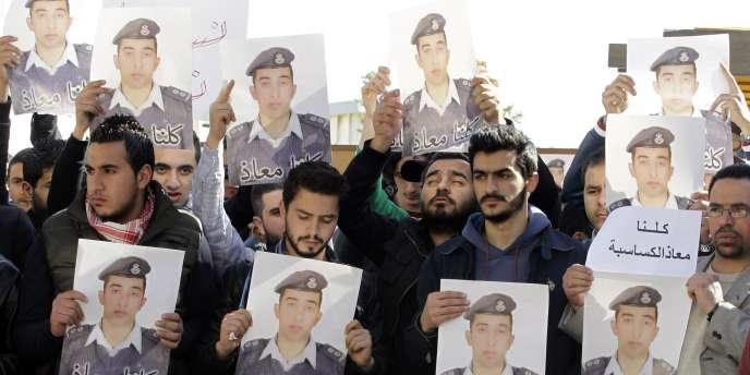 Le pilote jordanien Maaz Al-Kassasbeh a été exécuté par l'Etat islamique.