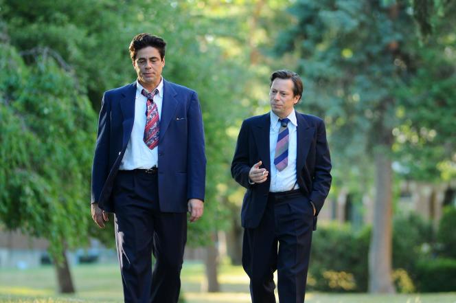 Benicio Del Toro (Jimmy P.), Mathieu Amalric (Georges Devereux).