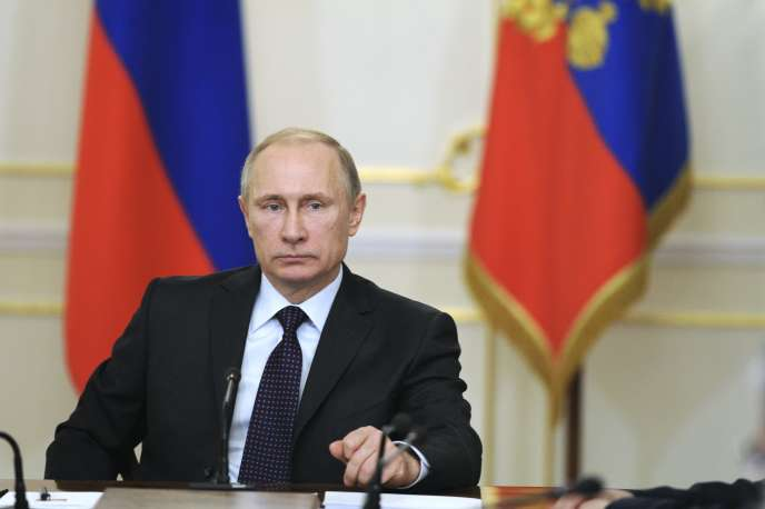 Le président russe Vladimir Poutine, le 4 février. Après l'annexion de la Crimée par la Russie, la Lituanie et la Lettonie ont décidé de doubler leur budget de défense d'ici à 2020.